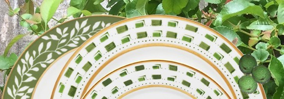 Porcelaine La Bocca Vert