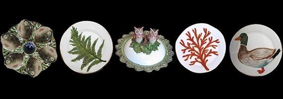 Porcelain & Majolica Dinnerware