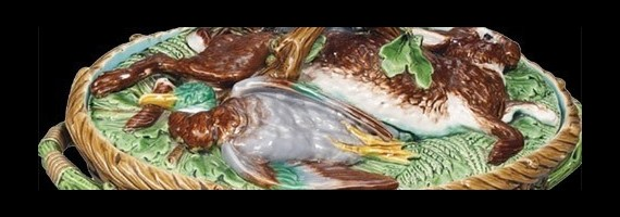 Mayólica, Asparagus plates
